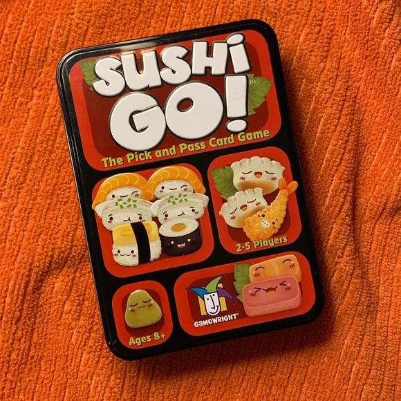 2 FOR $10 NIB SUSHI GO! NIB CARD GAME